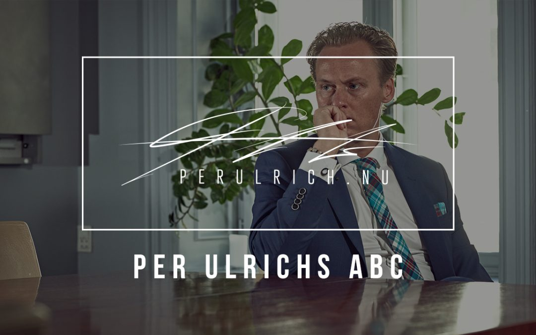 Per Ulrichs ABC – SALGCOACHING | PERULRICH.NU