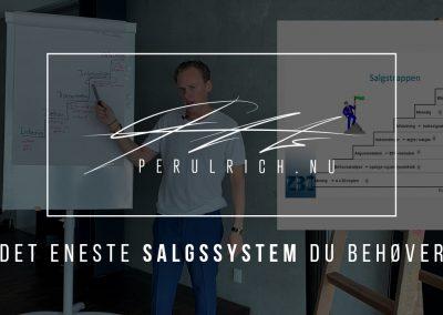 Det eneste SALGSSYSTEM du behøver – SALGCOACHING | Perulrich.nu