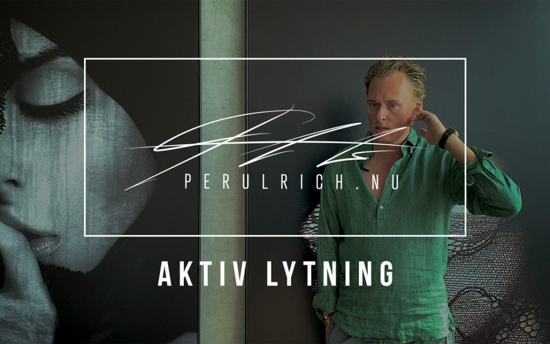 Aktiv lytning – SALGCOACHING | Perulrich.nu